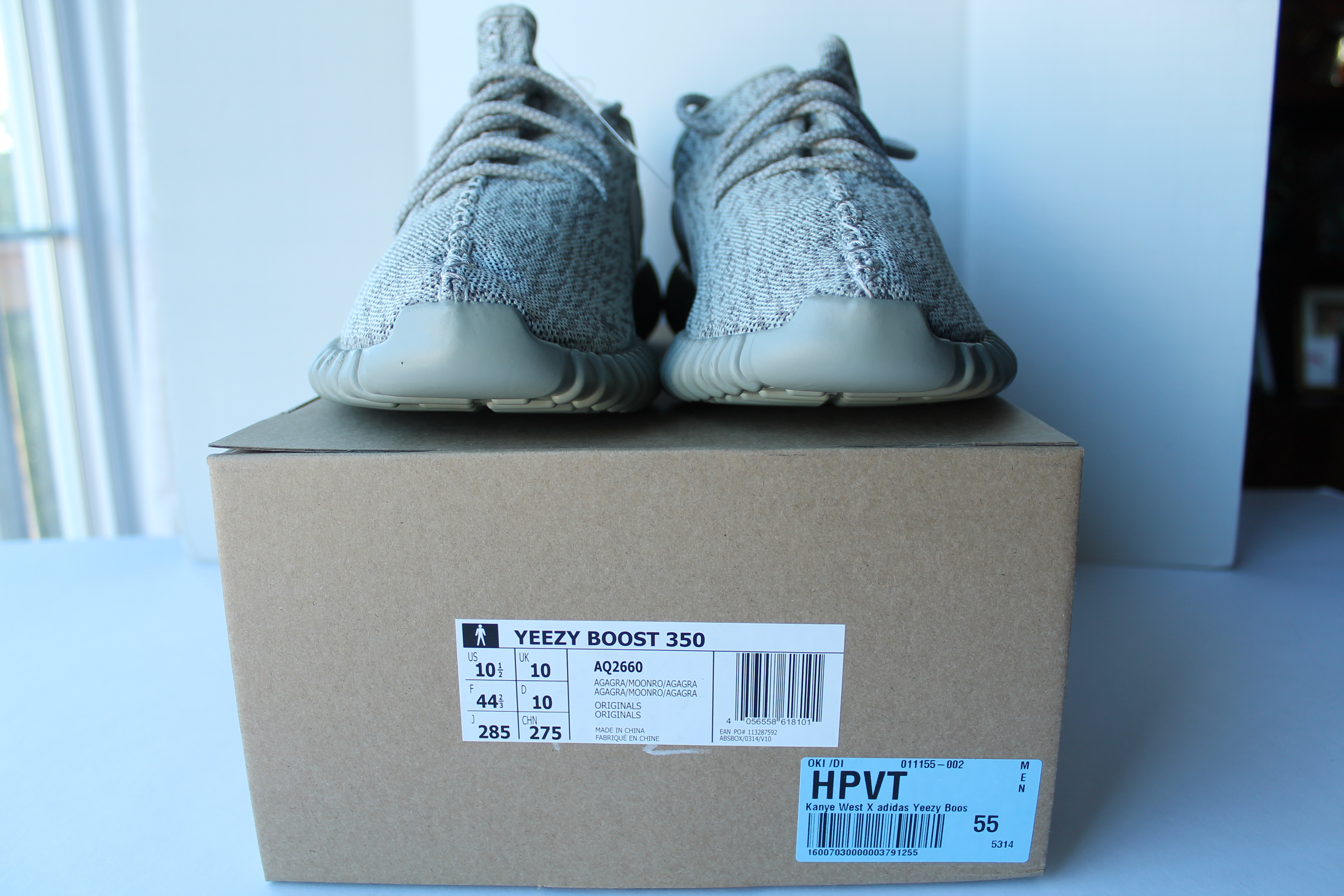 (REVIEW UNBOXING) David's Yeezy V2 Turtle Dove BB1829 On