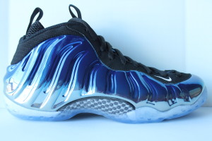 Nike Air Foamposite One PRM - Metallic Blue