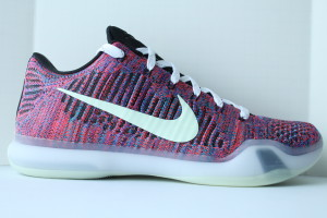 Nike Air Kobe X Elite Low iD Full Multicolor - Iridescent Nike Swoosh & Soles