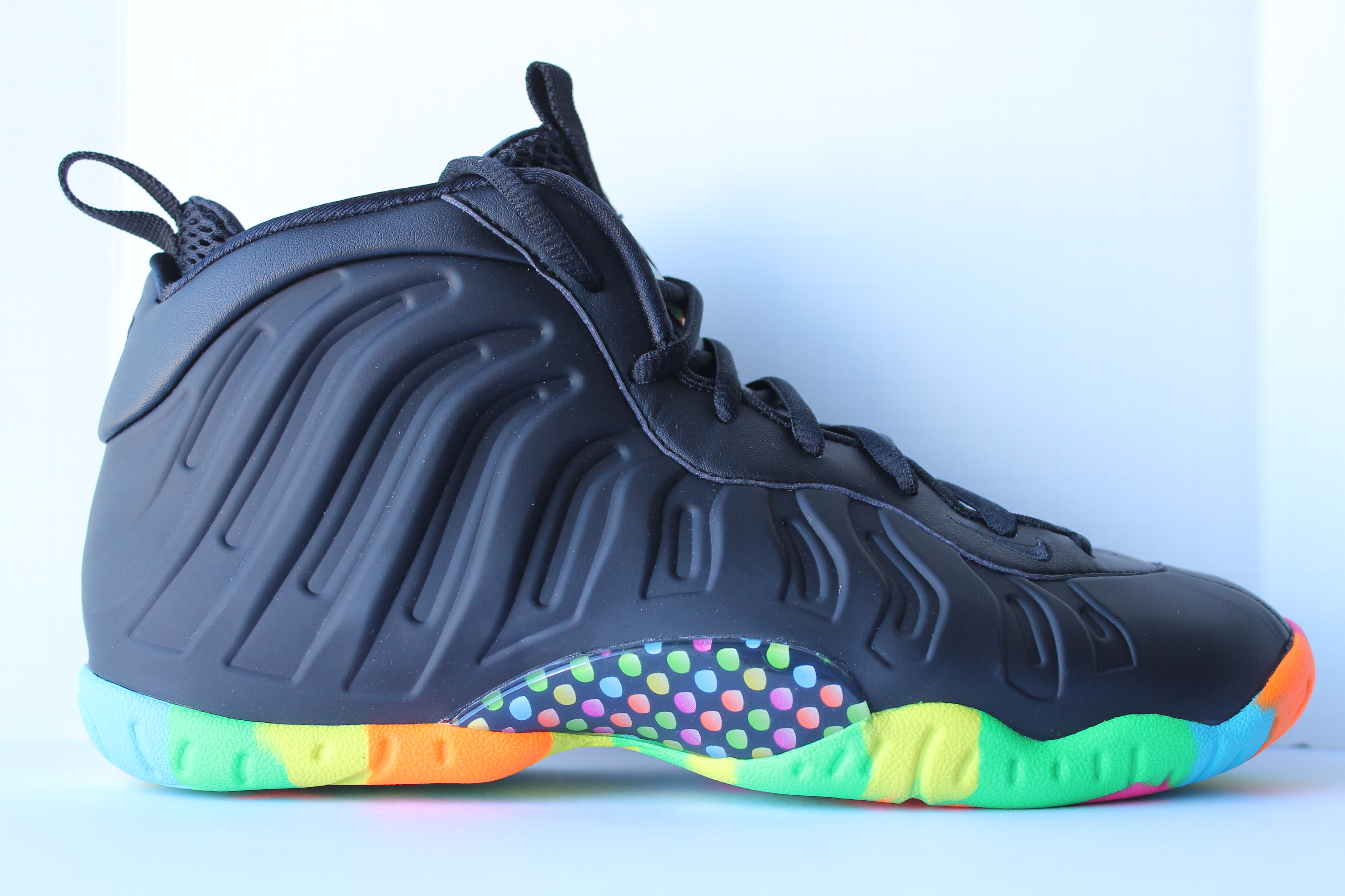 f497bbc37b4c Nike Little Posite One QS(GS) - Black