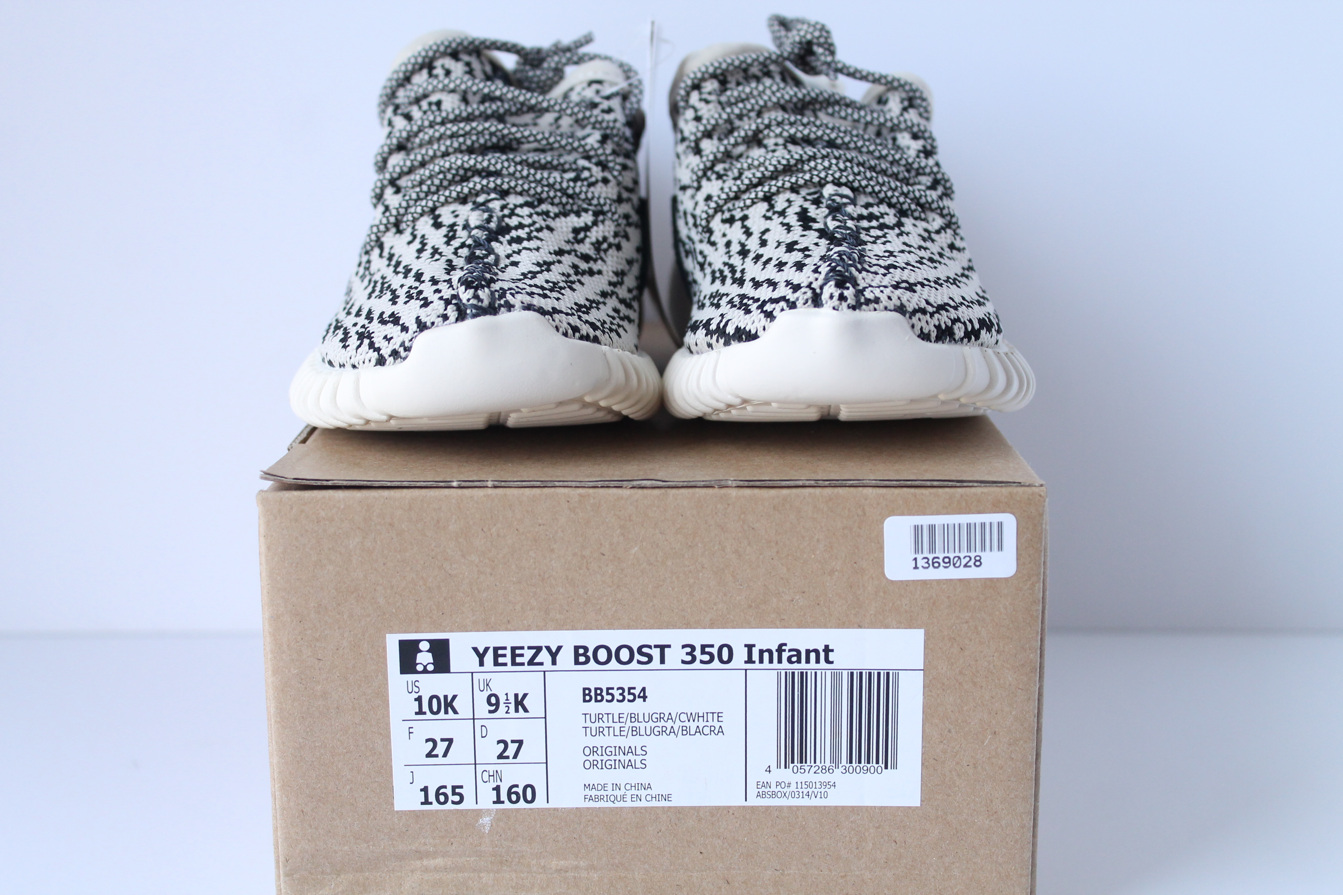 51ad0797df4 INFANT Adidas Yeezy Boost 350 – Turtle Dove ...