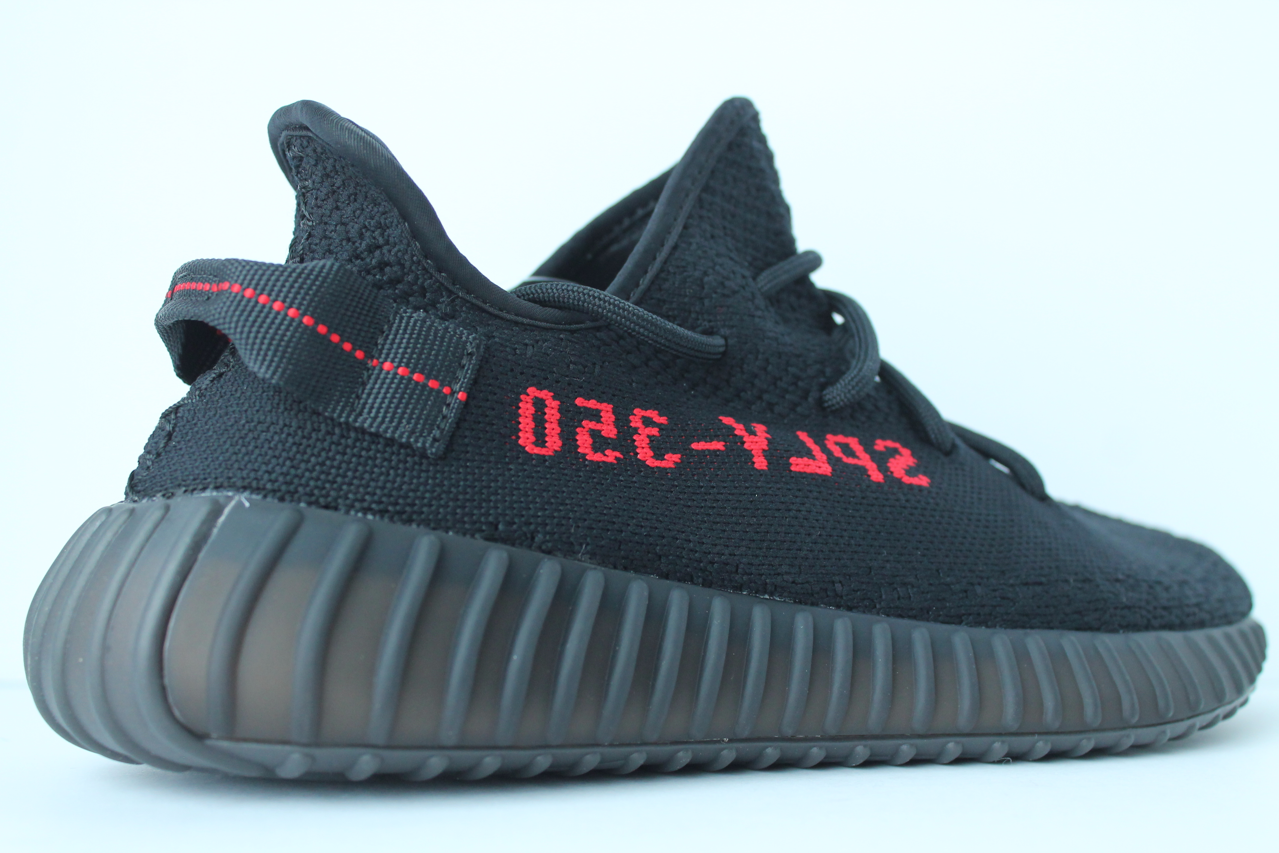 7e36983cd ... Bred Adidas Yeezy Boost 350 v2 ...