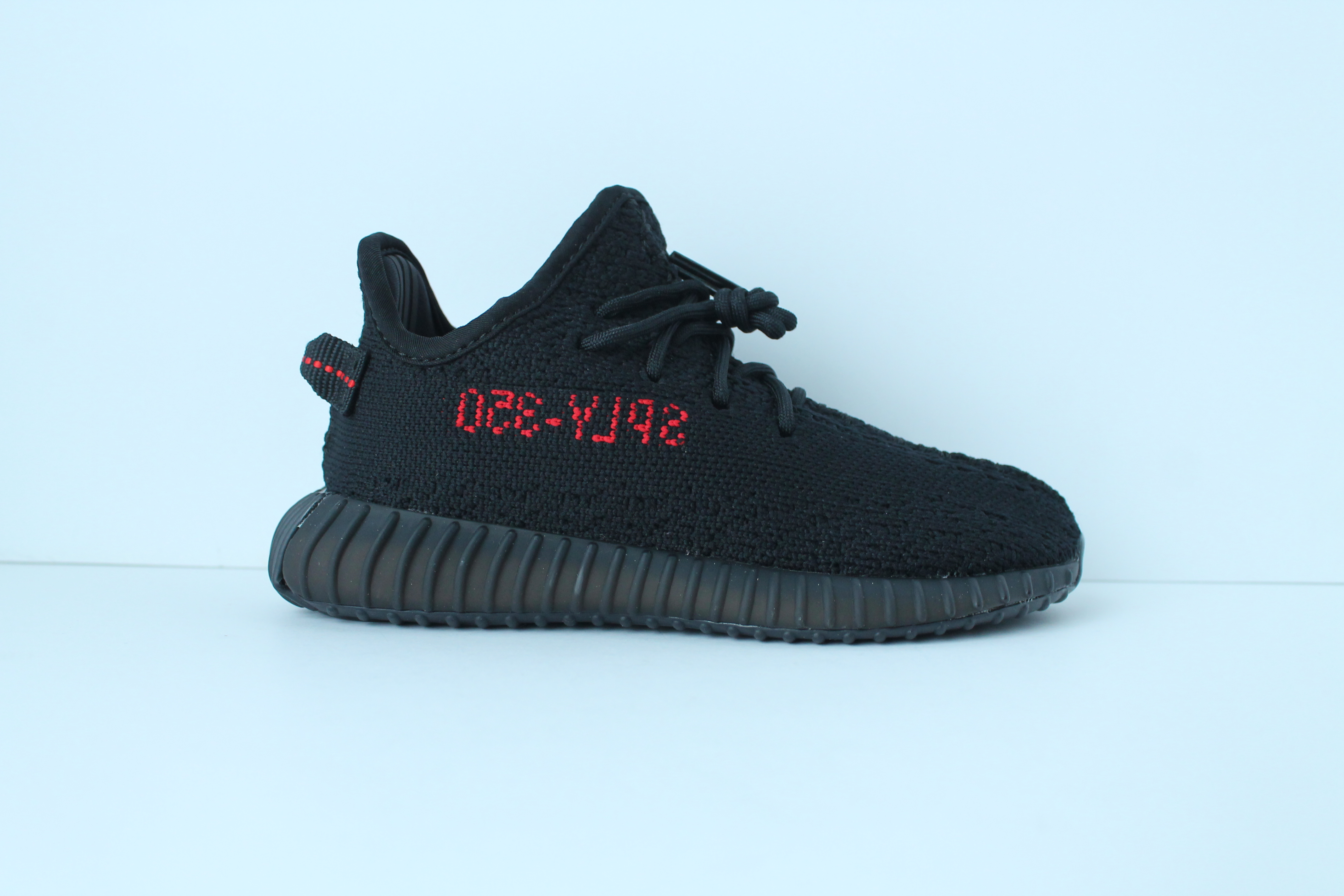 Yeezy boost 350 V 2 white red infant shelters