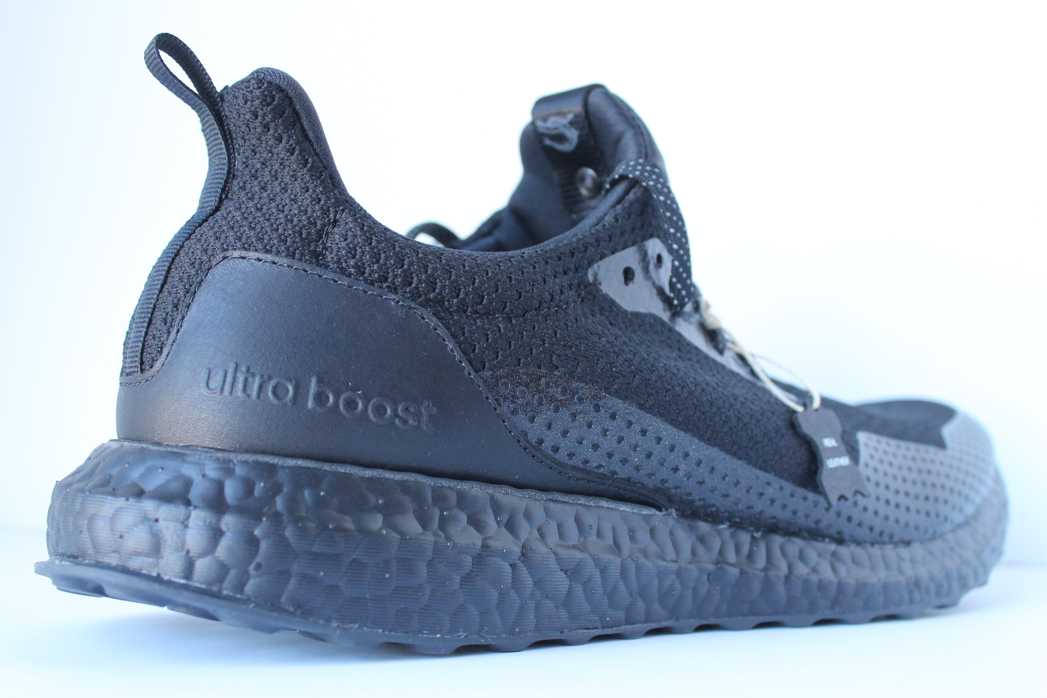 86a8dfe3 ... Adidas Ultra Boost Uncaged Haven – Triple Black ...