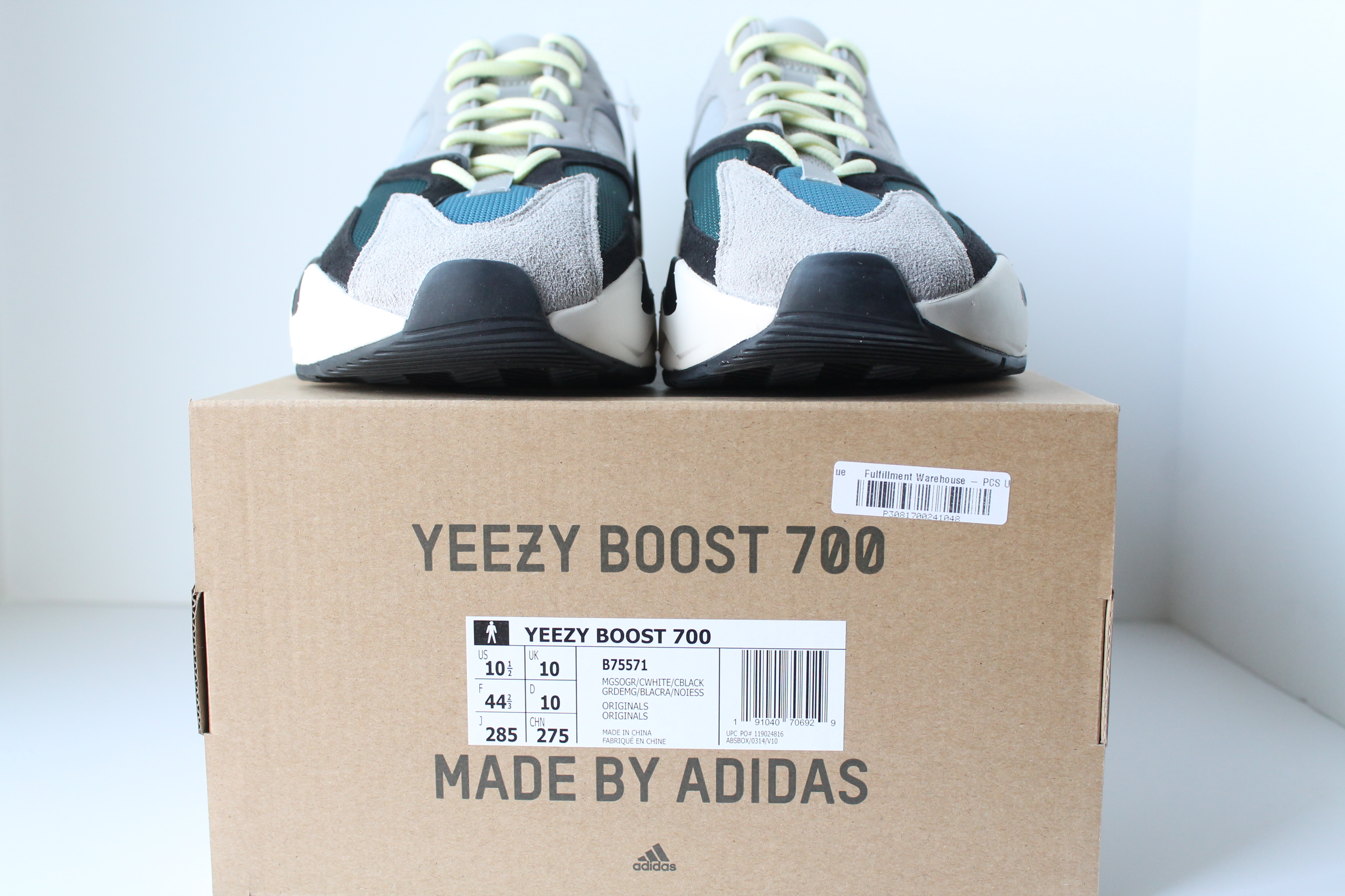 premium selection 102e0 74f9c ADIDAS YEEZY BOOST 700 WAVE RUNNER