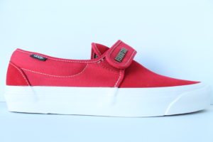 Fear of God Vans Slip-On 47 DX 'Collection 2 Red' - Red / Suede