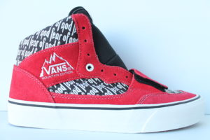 Fear of God Vans Mountain Edition 35 DX 'Collection 2' - Red / Print