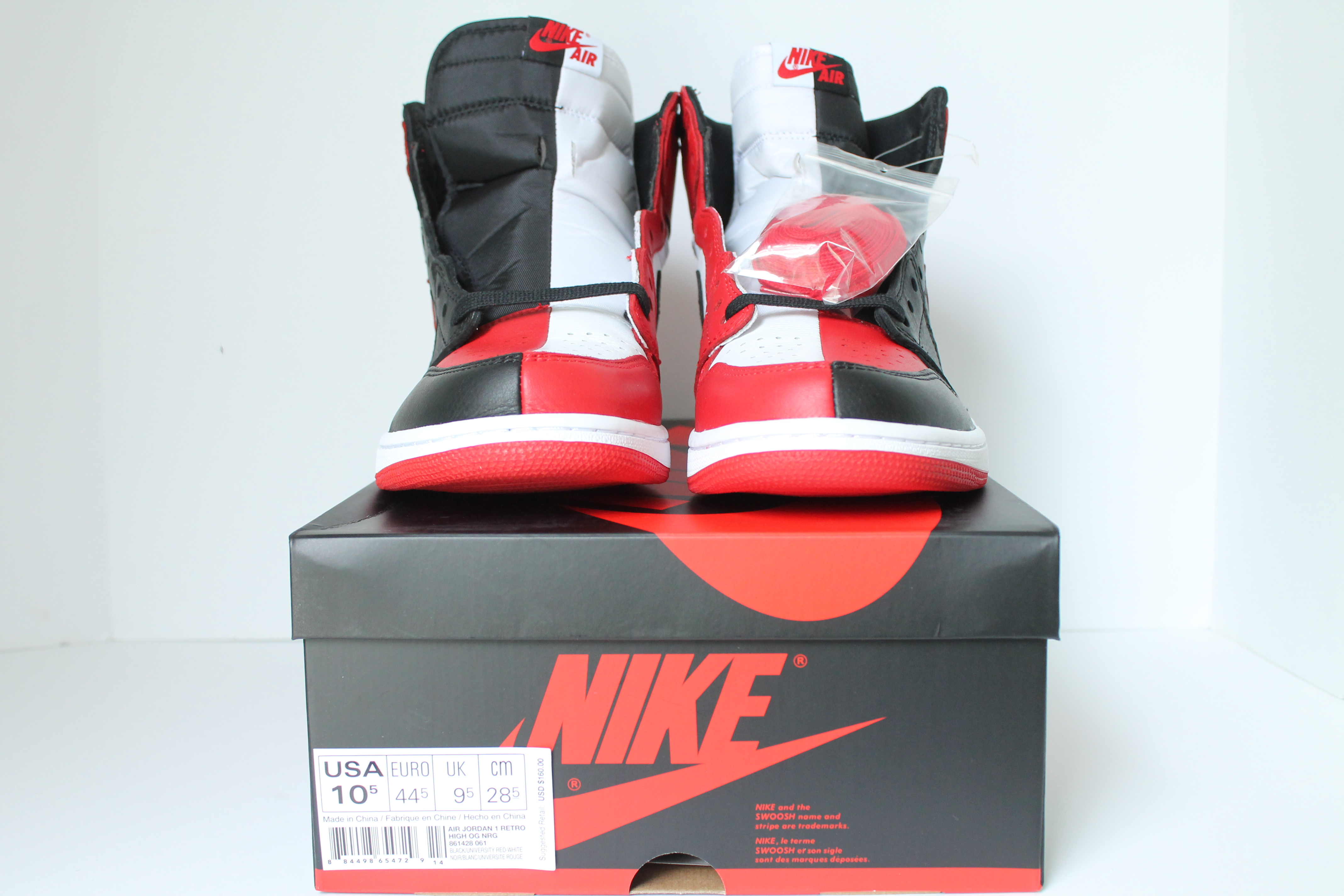 7eb5fb0f71a Air Jordan 1 Retro High OG NRG Homage to Home (NOT NUMBERED) ...