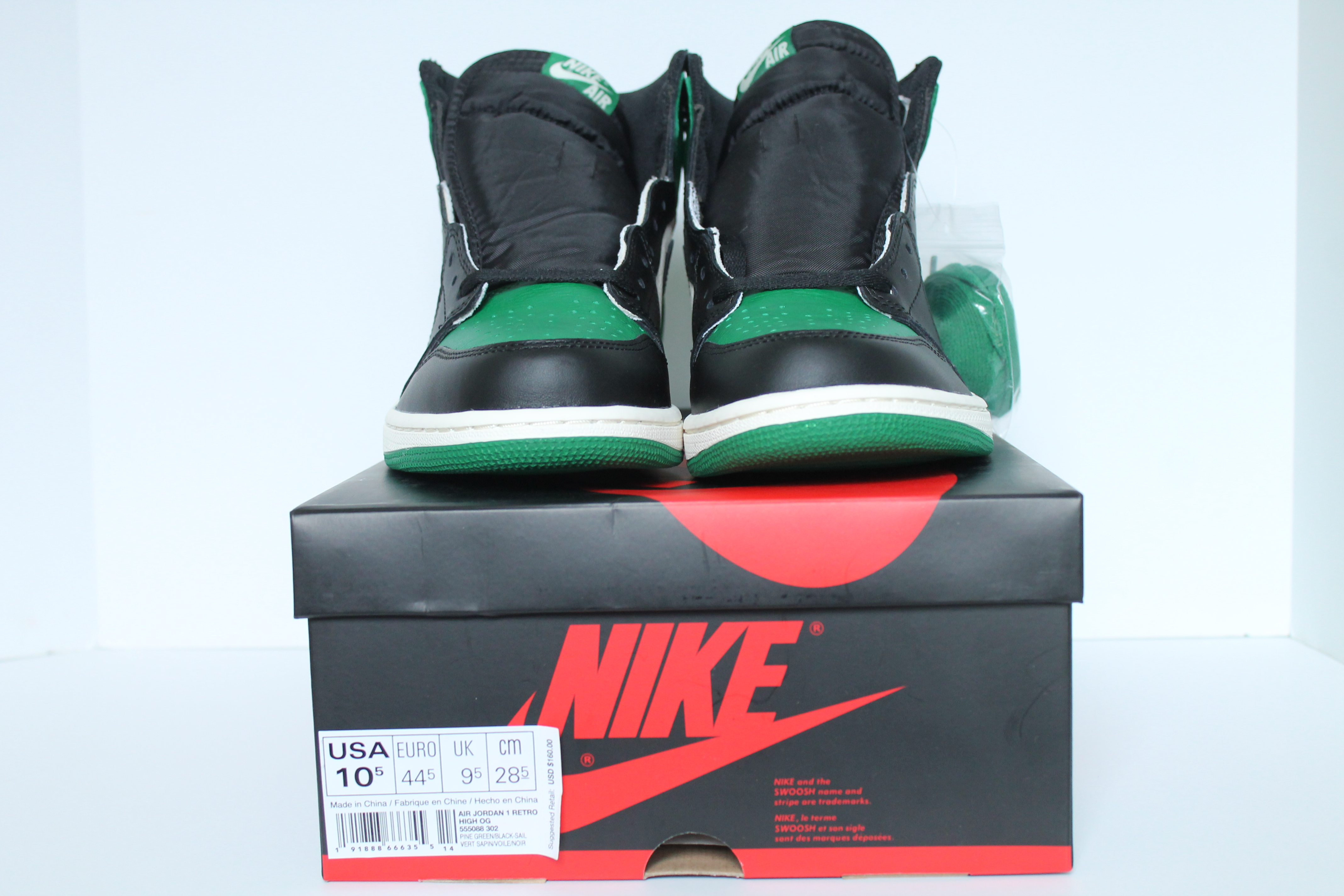 50ee76408d2 Air Jordan 1 Retro High OG – Pine Green ...