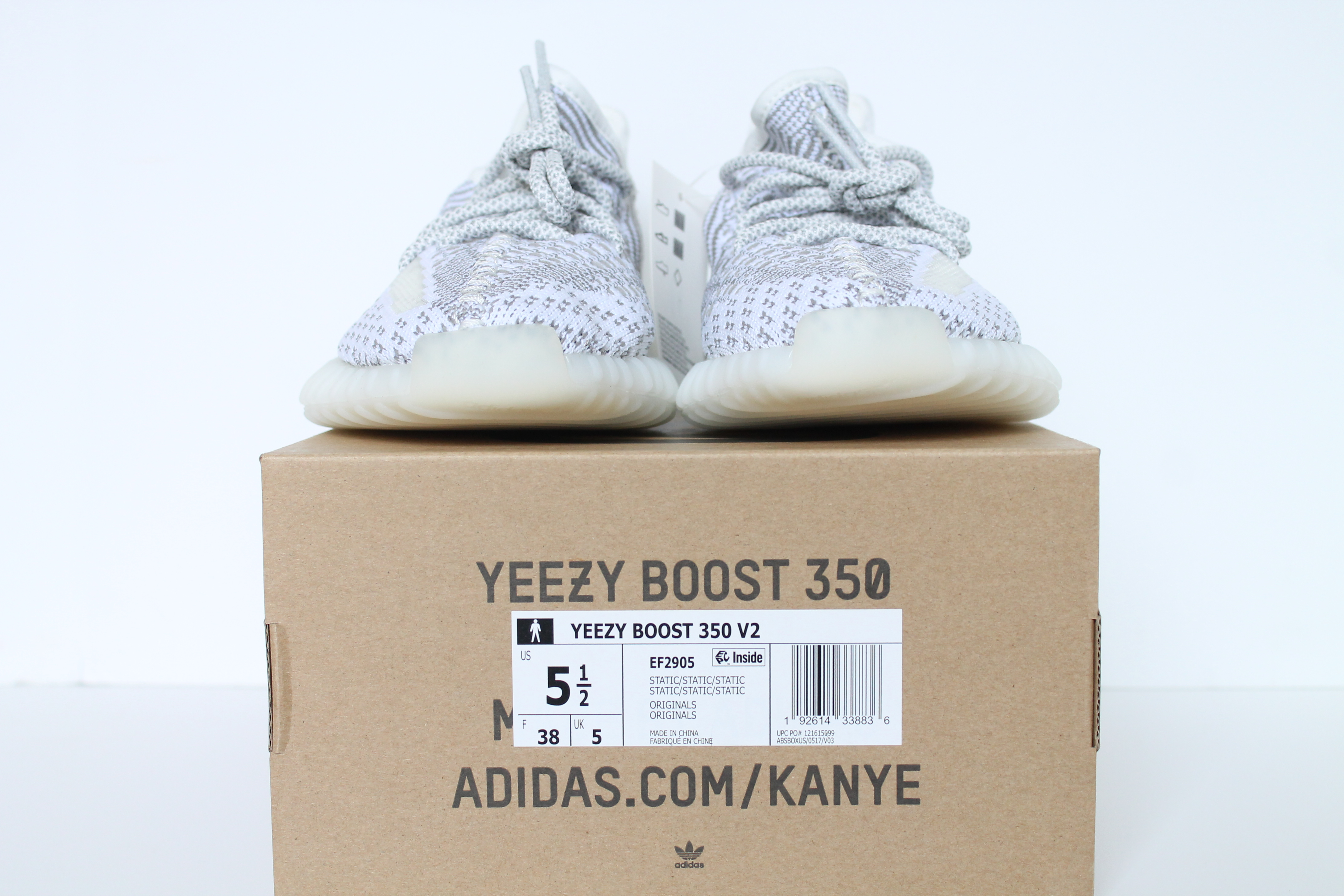 0d4401775 adidas Yeezy Boost 350 V2 Static Non Reflective ...