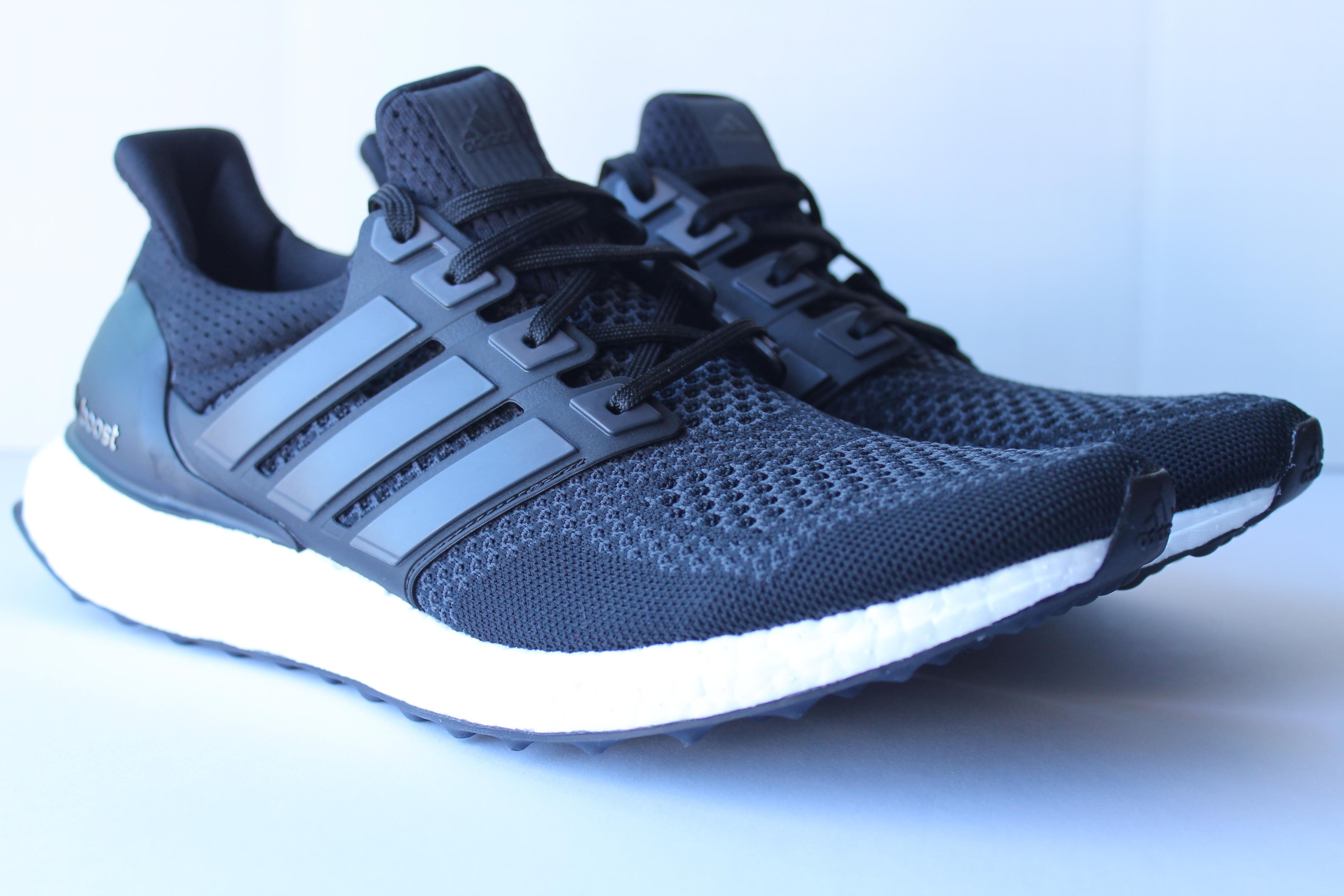 28c1ddf45093 ... Adidas Ultra Boost Black ...