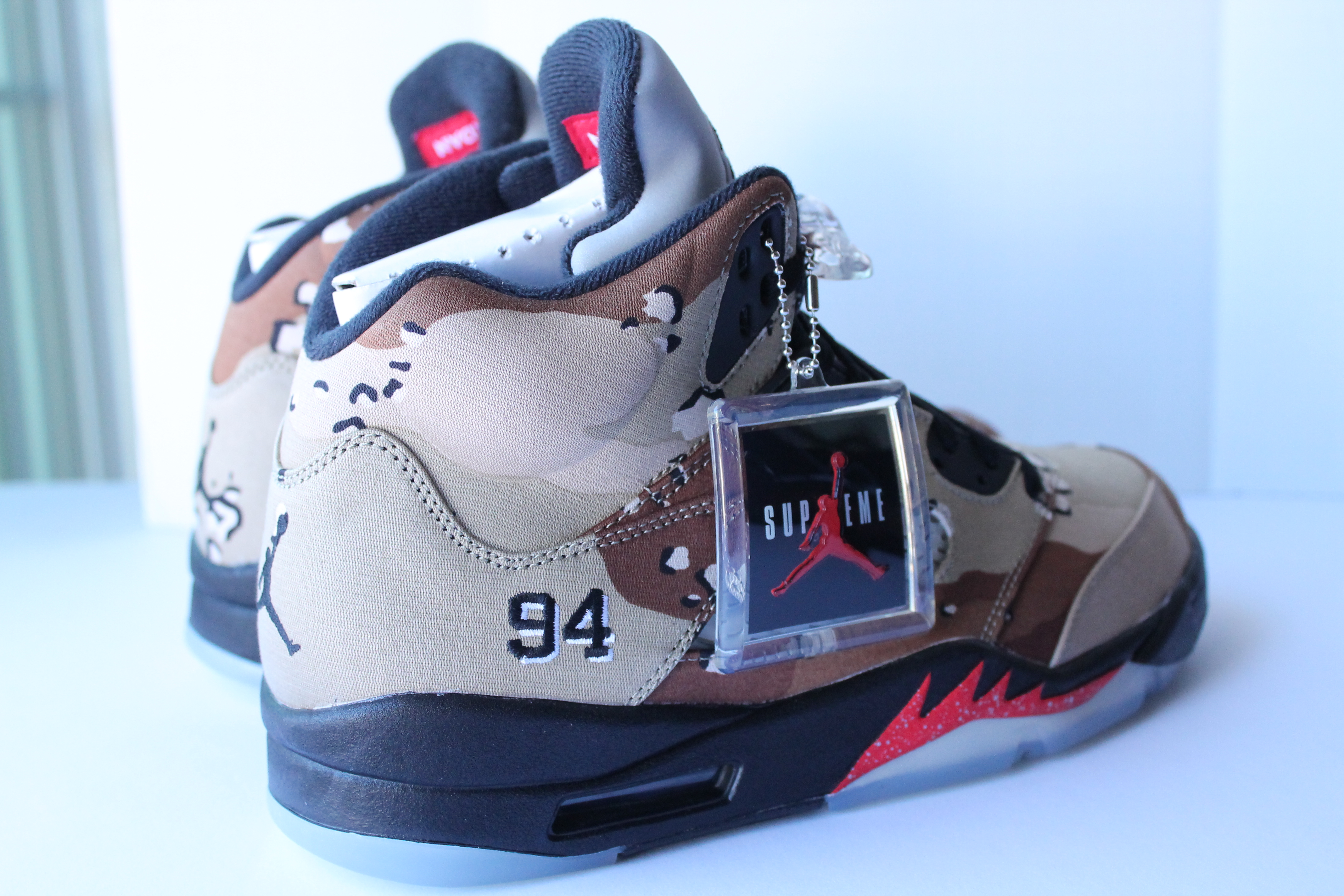 newest 786cf 4a976 ... Air Jordan 5 Retro X Supreme ...