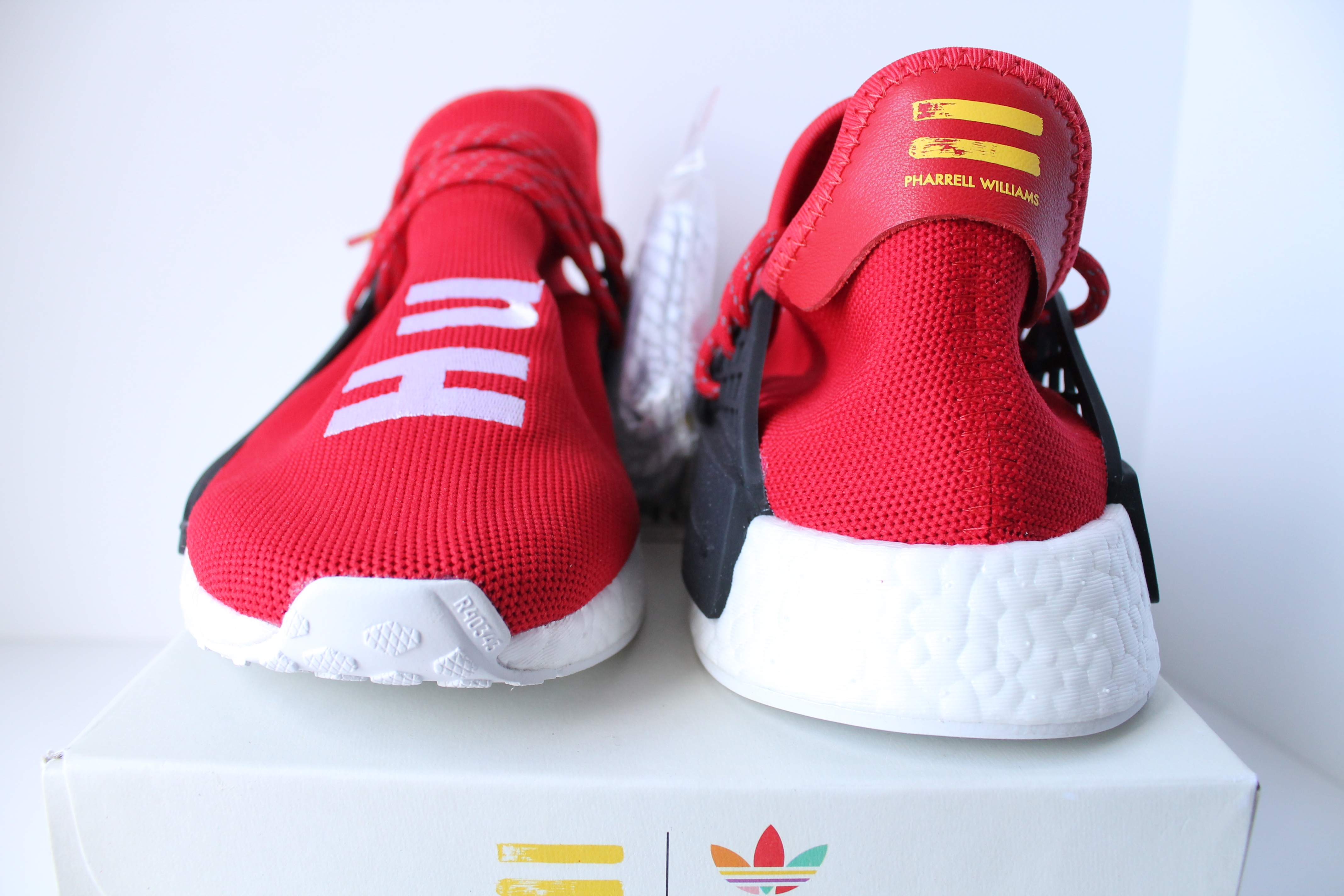 brand new 31d2b 9b049 Adidas PW Human Race NMD Red