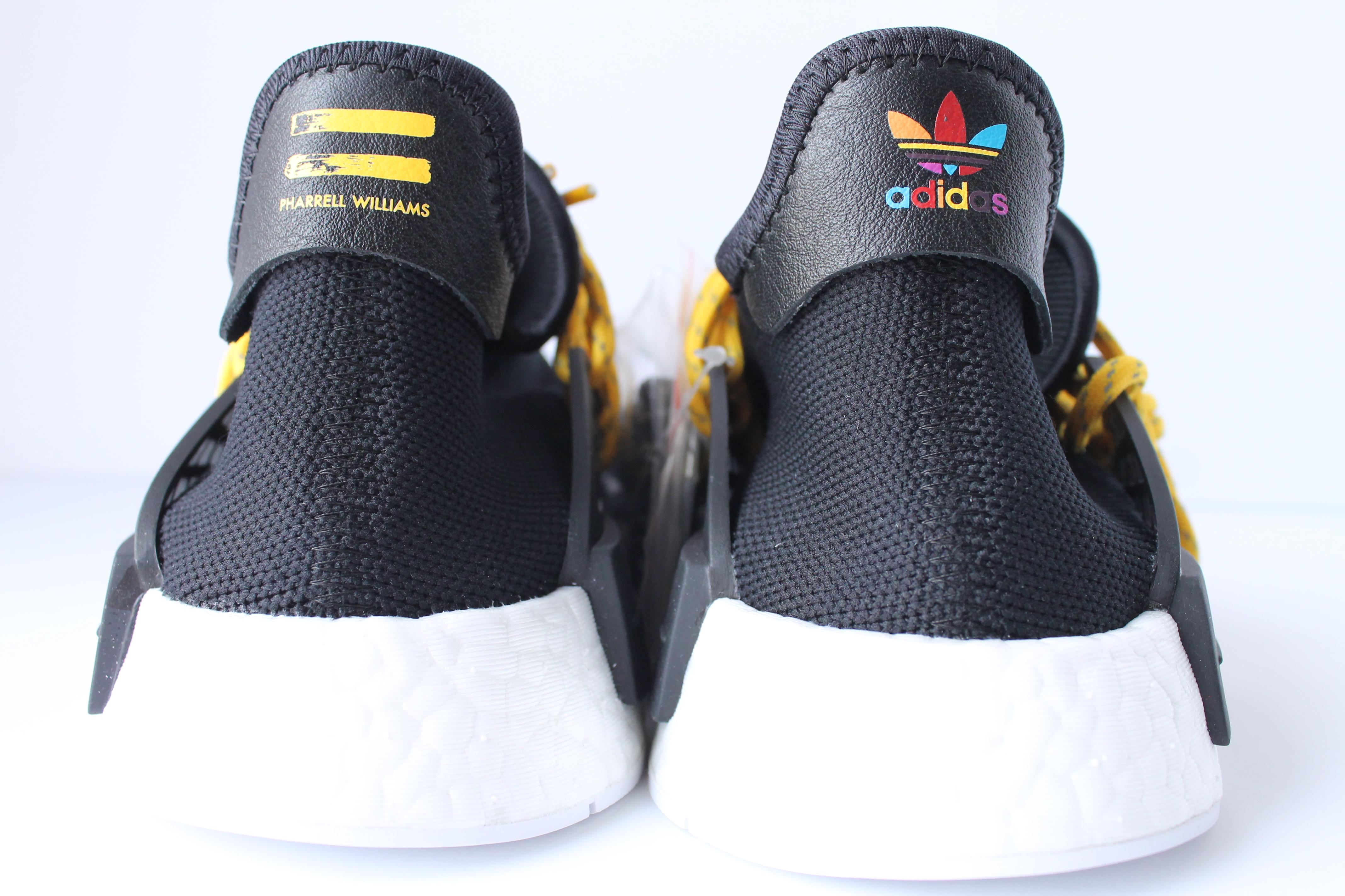 super popular 1801c 9324c Adidas PW Human Race NMD Black
