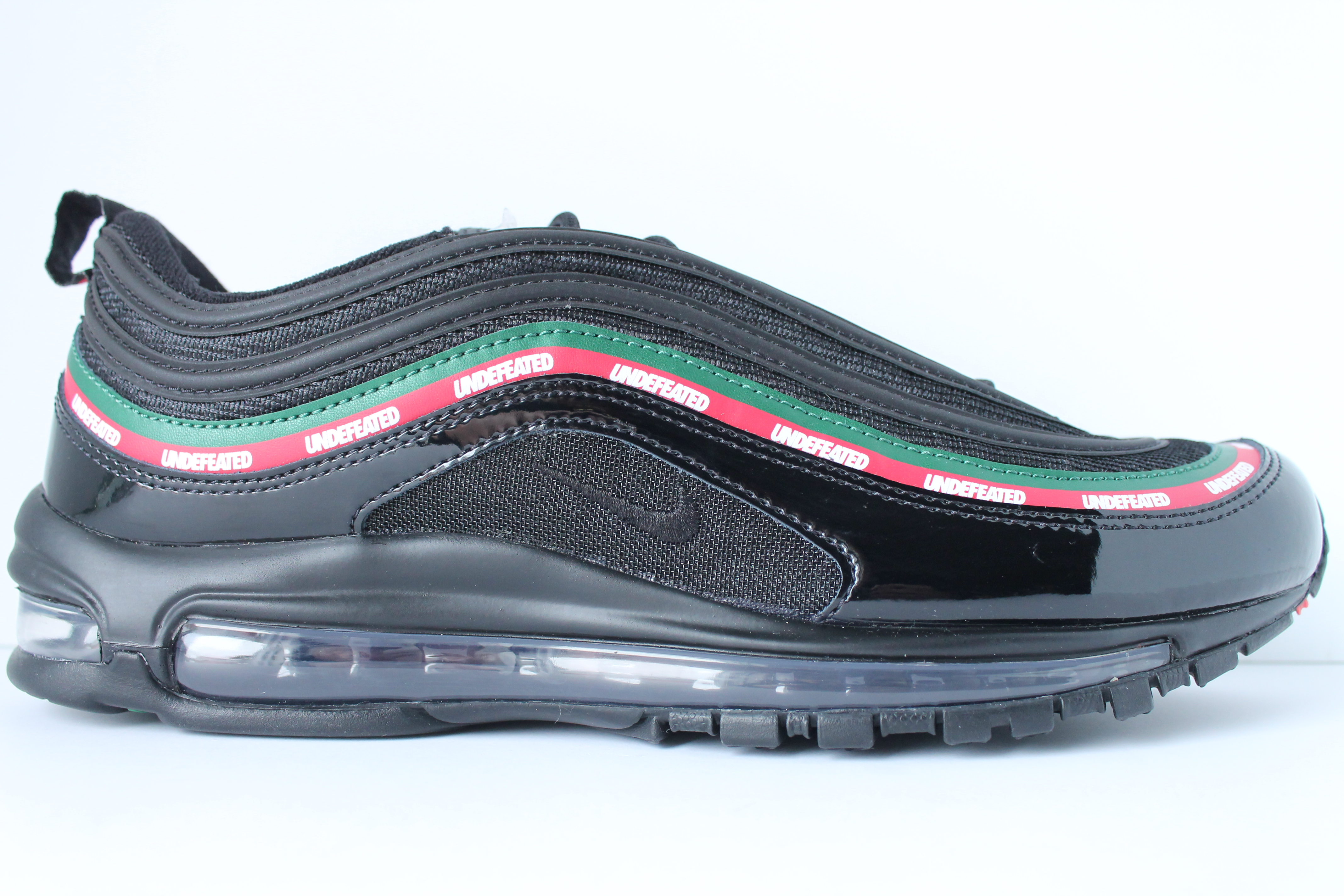 best sneakers cb43d 3aa6f UNDEFEATED X NIKE AIR MAX 97 OG BLACK