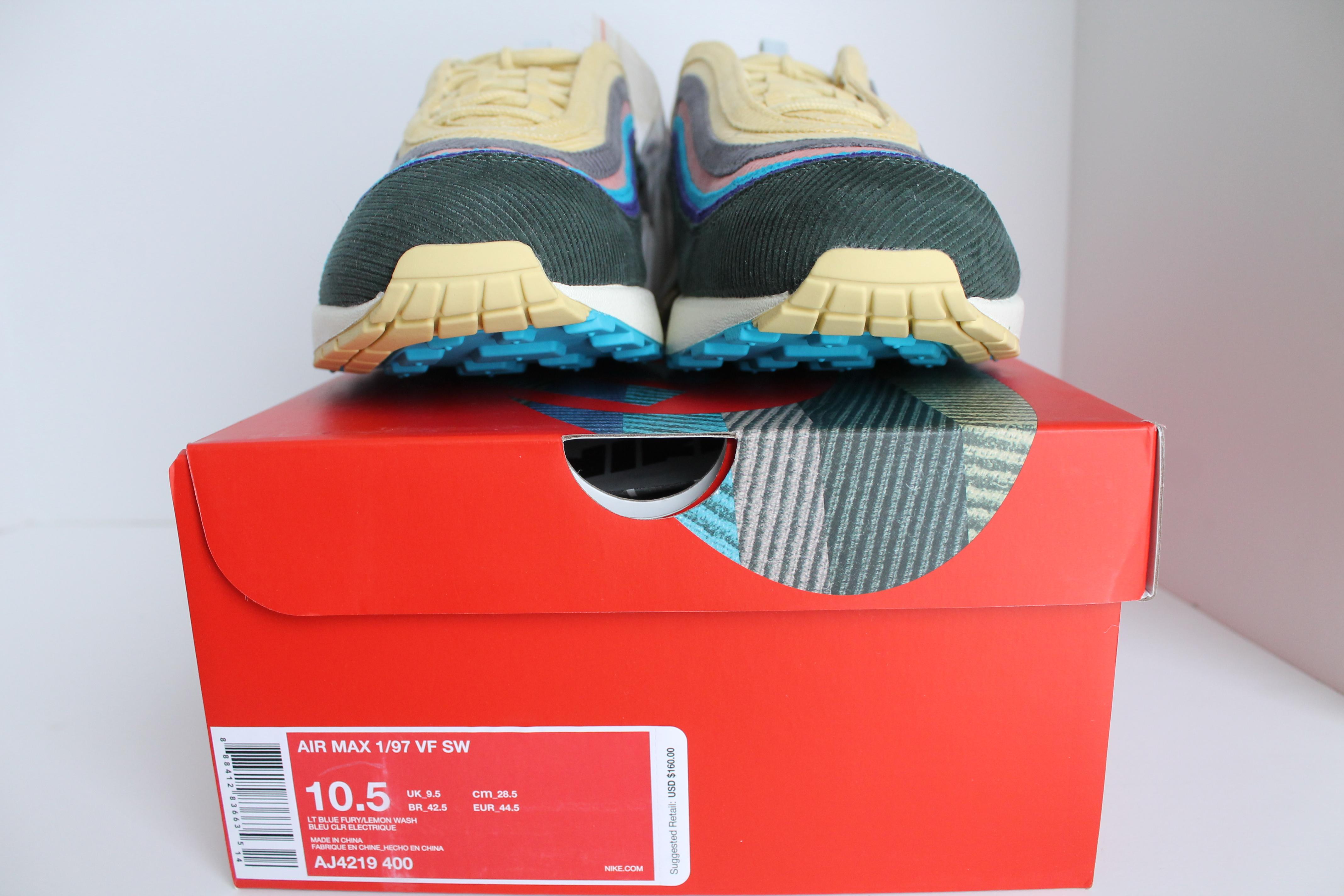 buy popular 7cc48 314cb ... Nike Air Max 1 97 VF Sean Wotherspoon ...