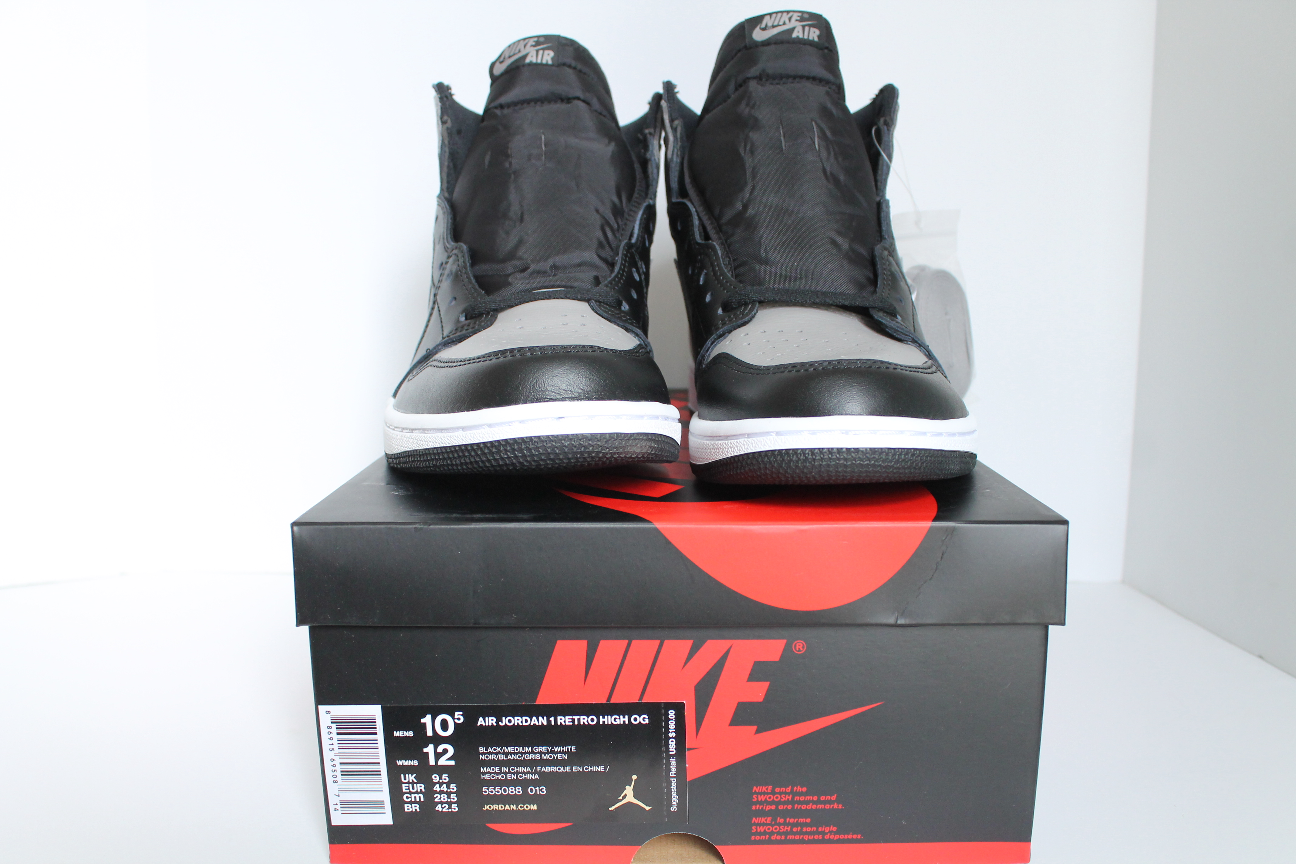 on sale ed094 1b133 ... Air Jordan 1 Retro High OG Shadow ...