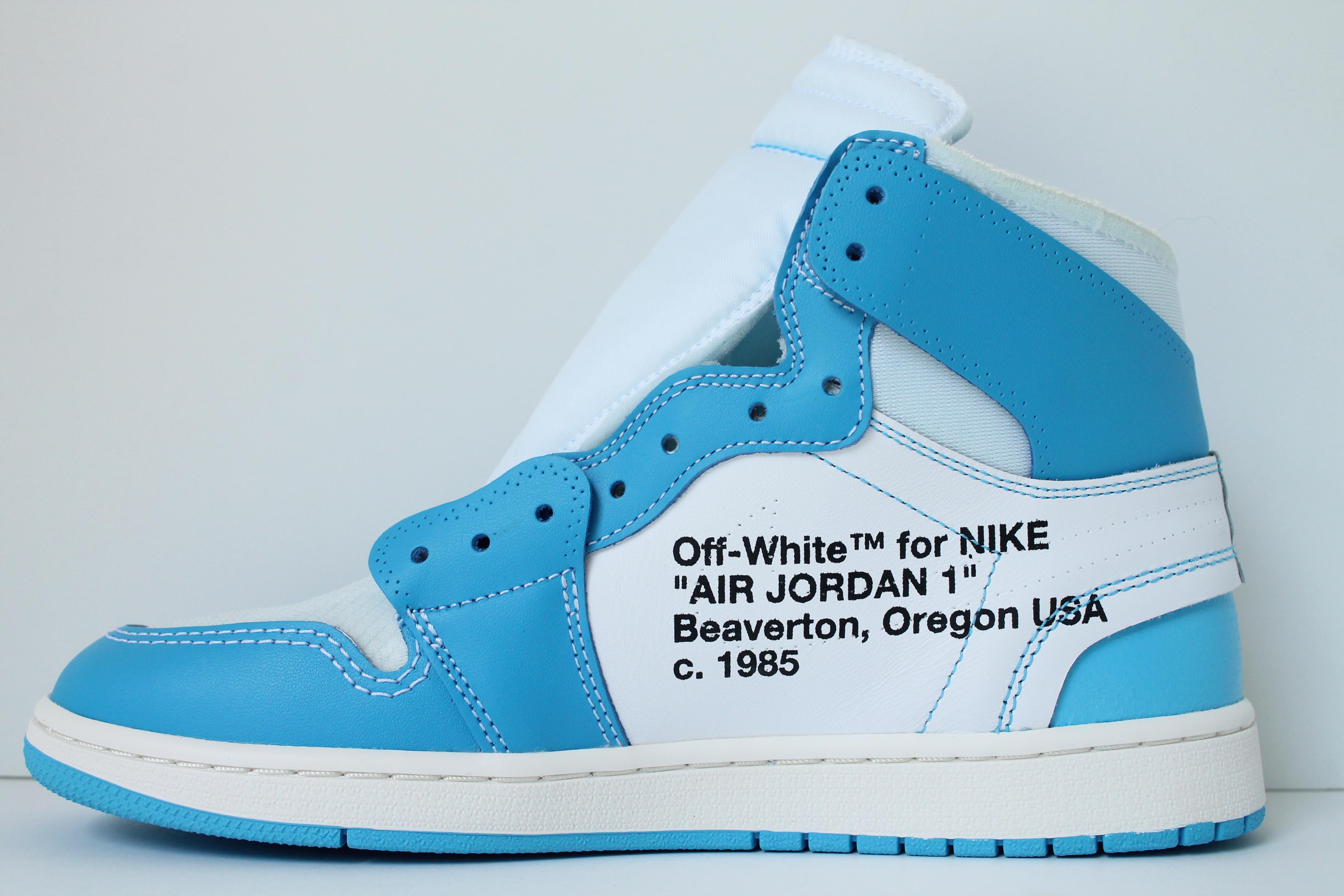 sale retailer 7f5b6 489bc Air Jordan 1 X OFF WHITE NRG
